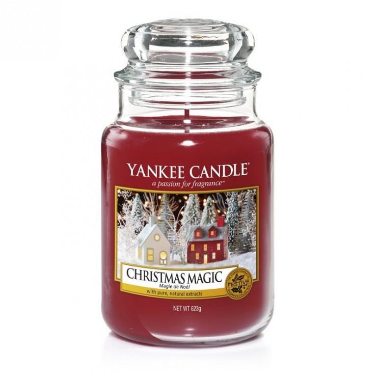 Duża świeca Christmas Magic Yankee Candle