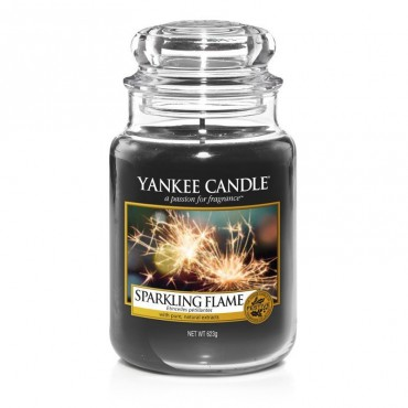 Duża świeca Sparkling Flame Yankee Candle
