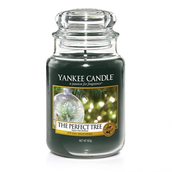 Duża świeca The Perfect Tree Yankee Candle