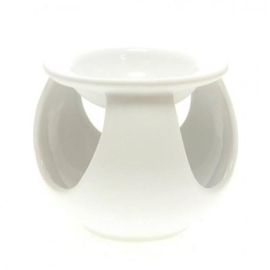 Kominek do wosków Pastelowa kula biały
