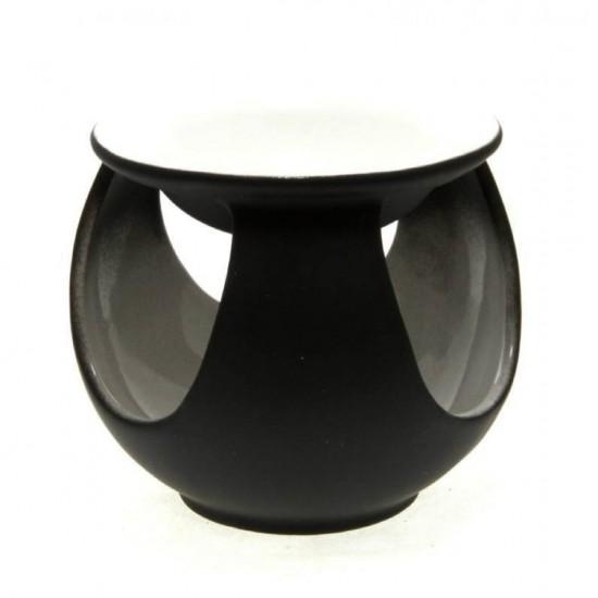 Kominek do wosków Pastelowa kula czarny