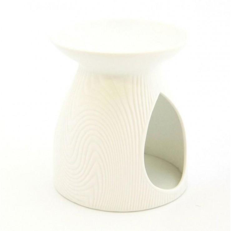 Kominek do wosków Porcelanowy wzór biały