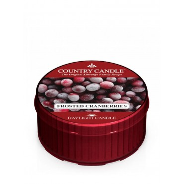 Daylight świeczka Frosted Cranberries Country Candle