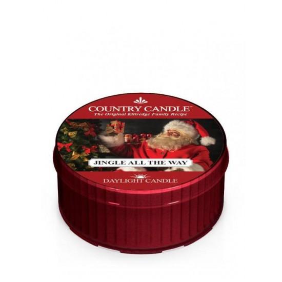 Daylight świeczka Jingle All The Way Country Candle