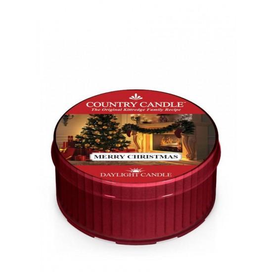 Daylight świeczka Merry Christmas Country Candle