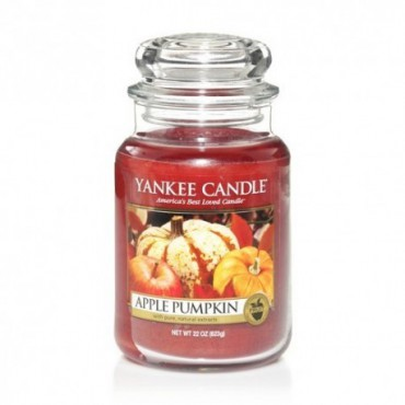 Duża świeca Apple Pumpkin Yankee Candle