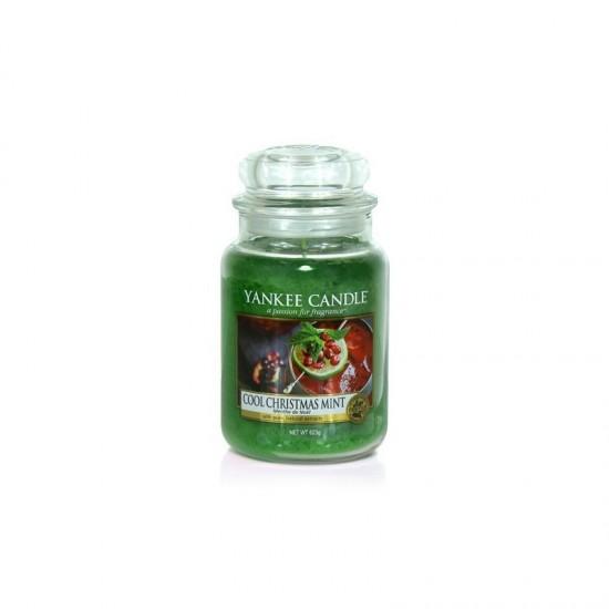 Duża świeca Cool Christmas Mint Yankee Candle