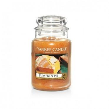 Duża świeca Pumpkin Pie Yankee Candle