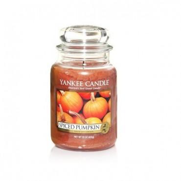 Duża świeca Spiced Pumpkin Yankee Candle