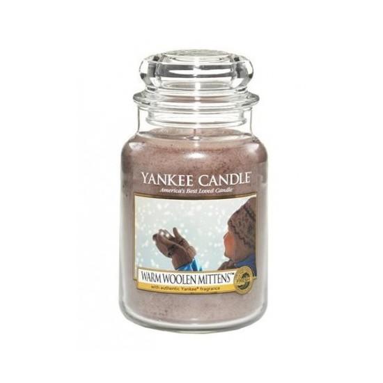 Duża świeca Warm Woolen Mittens Yankee Candle