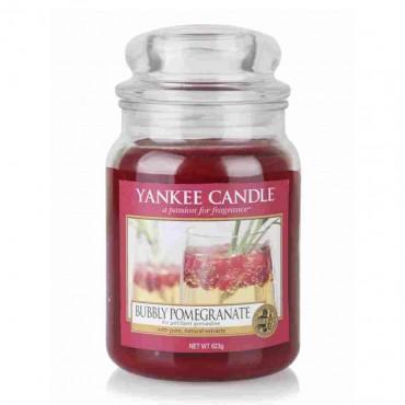 Duża świeca Bubbly Pomegranate Yankee Candle