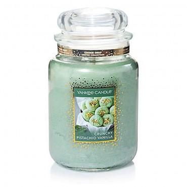 Duża świeca Crunchy Pistachio Vanilla Yankee Candle