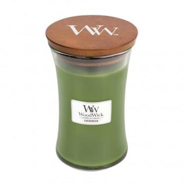 Duża Świeca Evergreen WoodWick