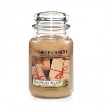 Duża świeca Brown Paper Packages Yankee Candle