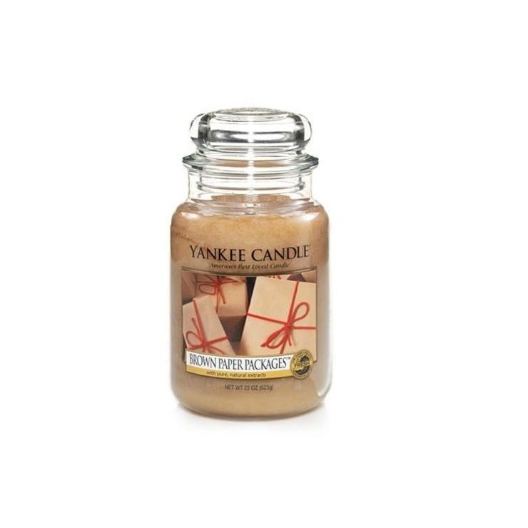 Duża świeca Brown Paper Packages Yankee Candle