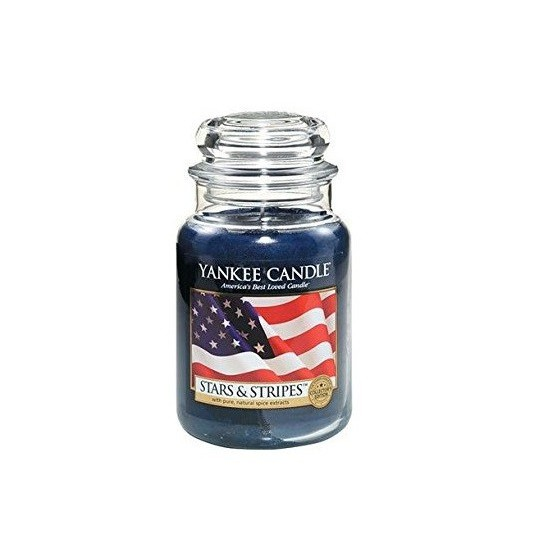 Duża świeca Stars & Stripes Yankee Candle