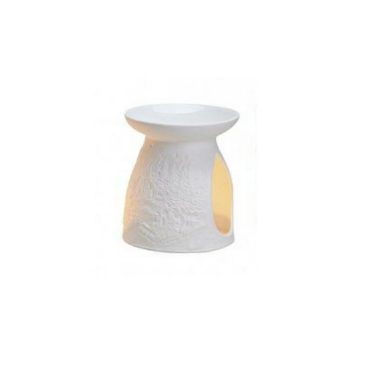 Kominek do wosków: Zimny Las (biały)