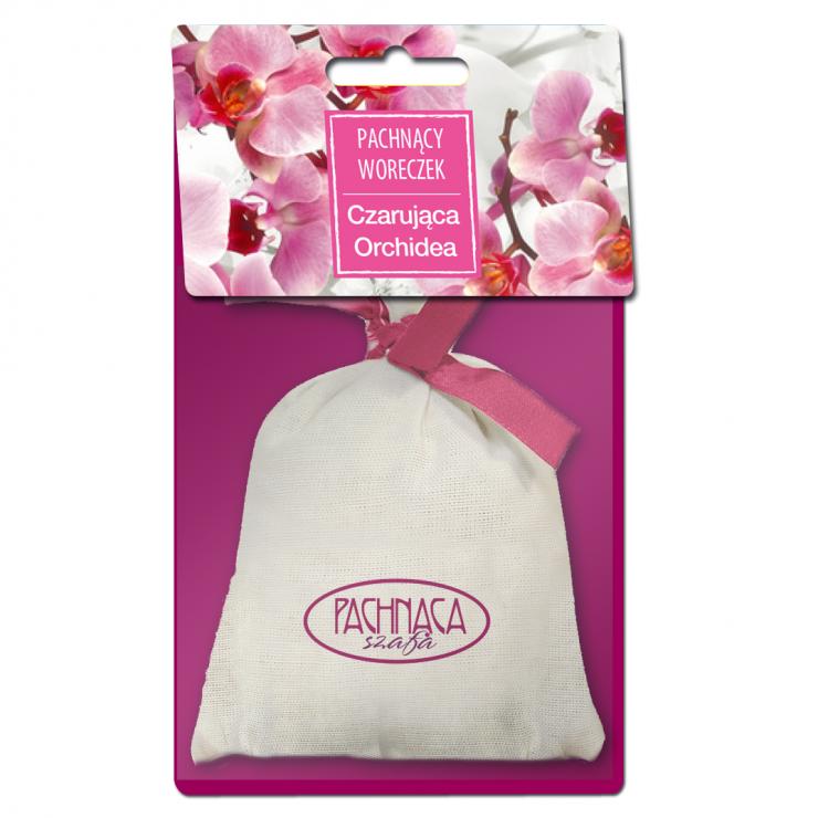 Woreczek zapachowy Czarująca Orchidea Pachnąca Szafa