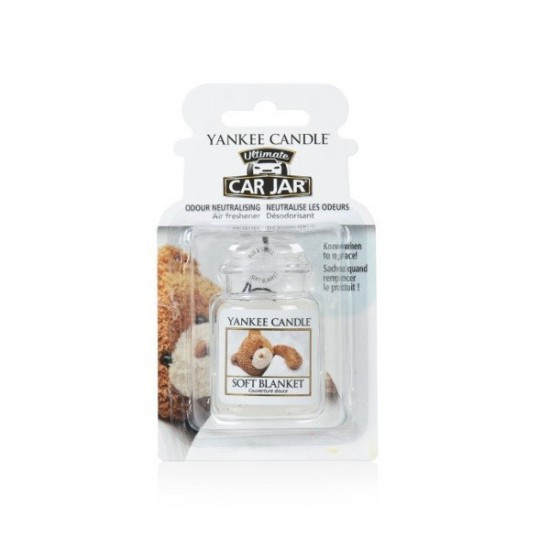 Car jar ultimate Soft Blanket Yankee Candle