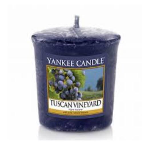 Sampler Tuscan Vineyard Yankee Candle