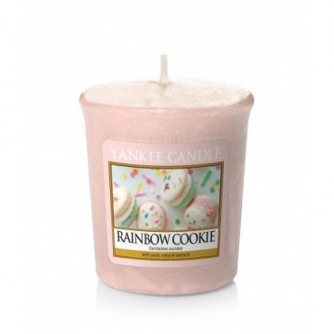 Sampler Rainbow Cookie Yankee Candle.