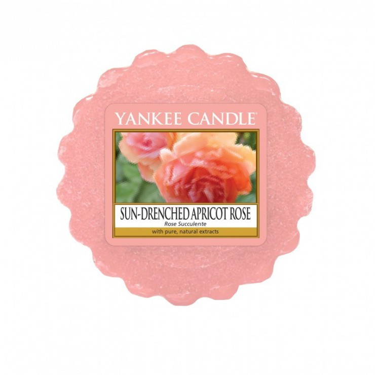 Wosk Sun-Drenched Apricot Rose Yankee Candle