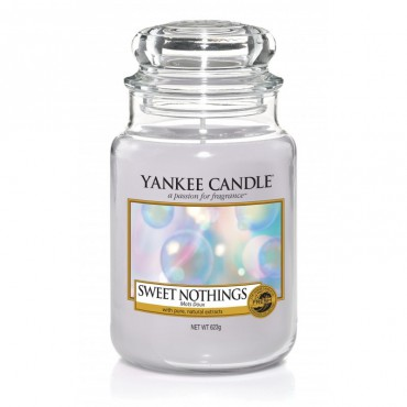 Duża świeca Sweet Nothings Place Yankee Candle