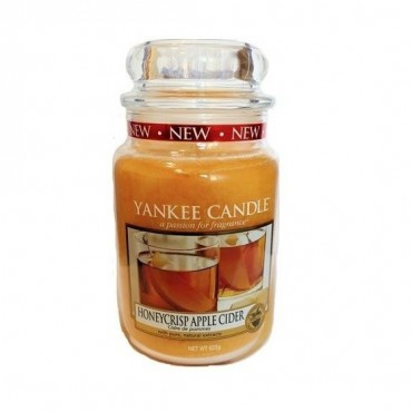 Duża świeca Honeycrisp Apple Cider Yankee Candle