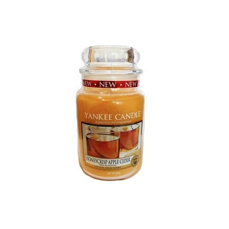 Duża świeca Honeycrisp Apple Cider Yankee Candle