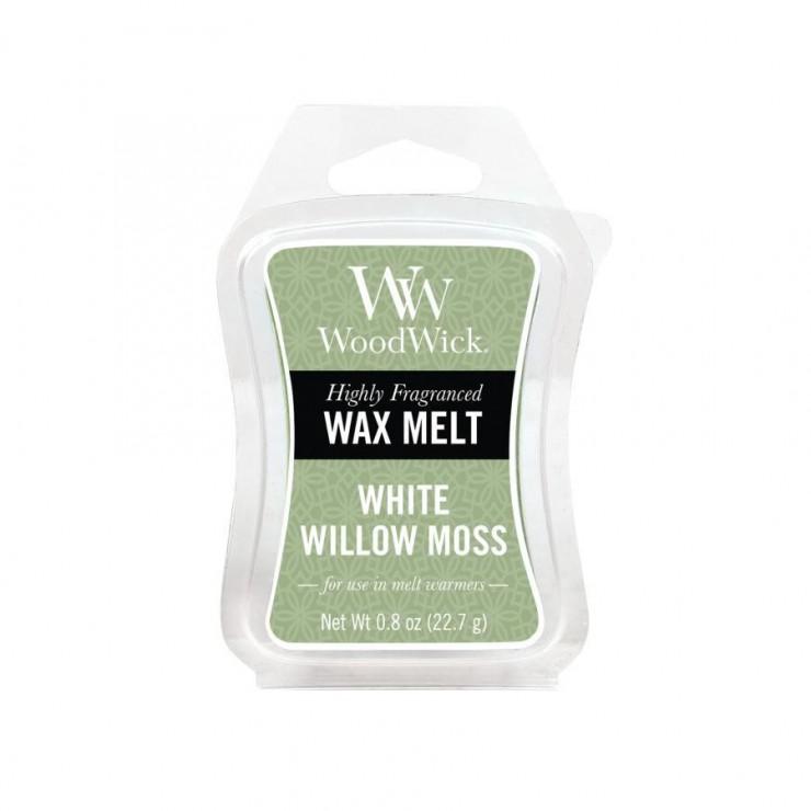 Wosk White Willow Moss WoodWick