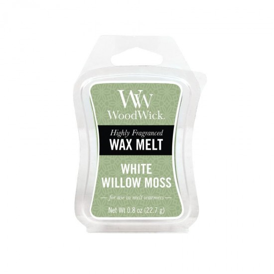 Wosk White Willow Moss WoodWick