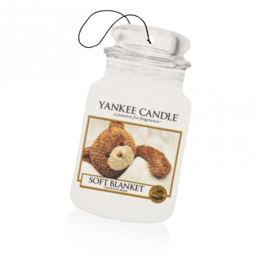 Car jar Soft Blanket Yankee Candle