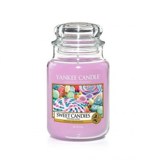 Duża świeca Sweet Candies Yankee Candle