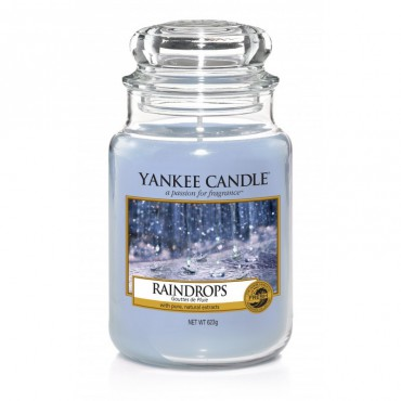 Duża świeca Raindrops Yankee Candle