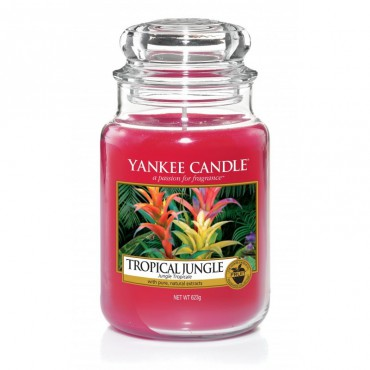 Duża świeca Tropical Jungle Yankee Candle