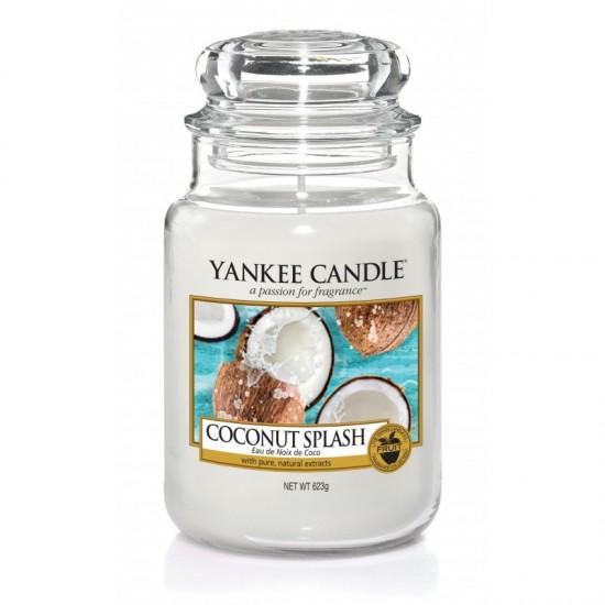 Duża świeca Coconut Splash Yankee Candle