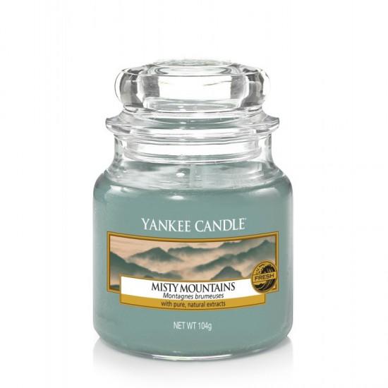 Mała świeca Misty Mountains Yankee Candle