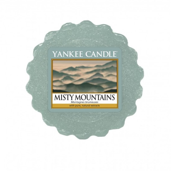 Wosk Misty Mountains Yankee Candle