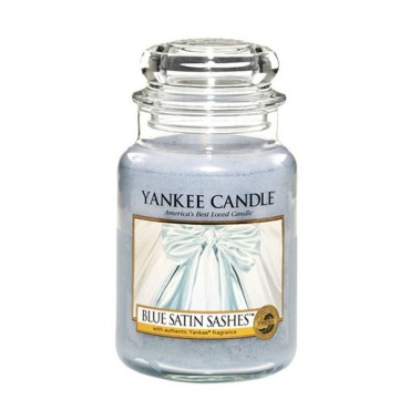 Duża świeca Blue Satin Sashes Yankee Candle