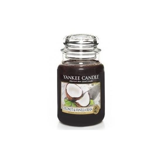 Duża świeca Coconut & Vanilla Bean Yankee Candle