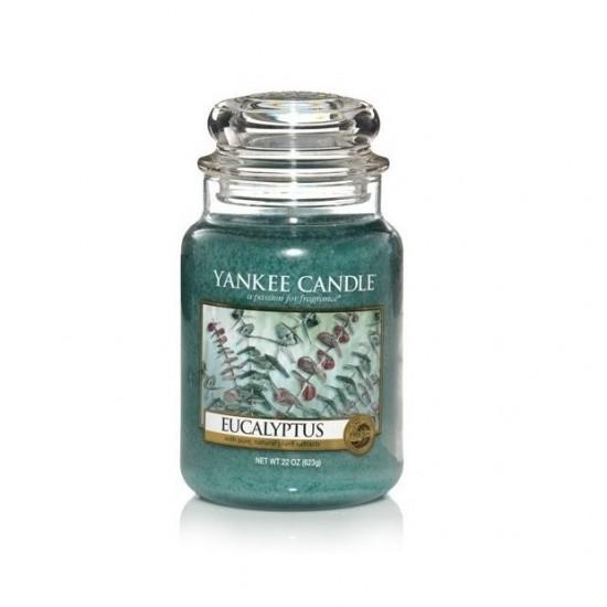 Duża świeca Eucalyptus Yankee Candle