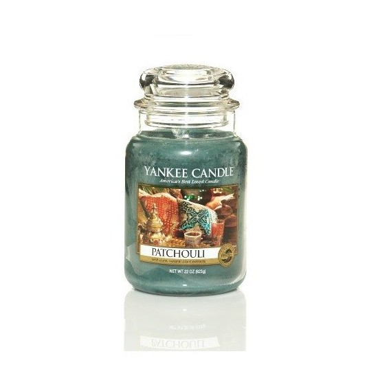 Duża świeca Patchouli Yankee Candle
