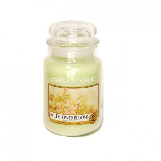 Duża świeca Wildflower Blooms Yankee Candle