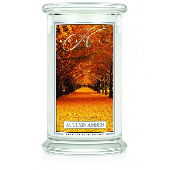 Duża świeca Autumn Amber Kringle Candle