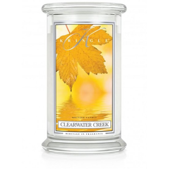 Duża świeca Clearwater Creek Kringle Candle