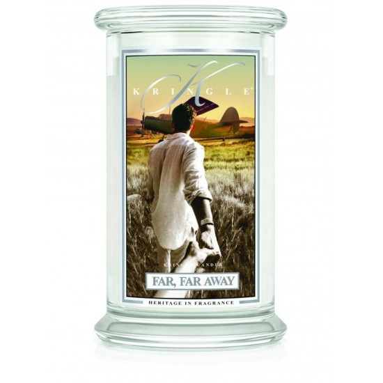 Duża świeca Far Far Away Kringle Candle