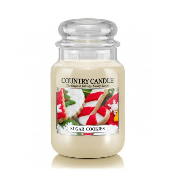 Duża świeca Sugar Cookies Country Candle