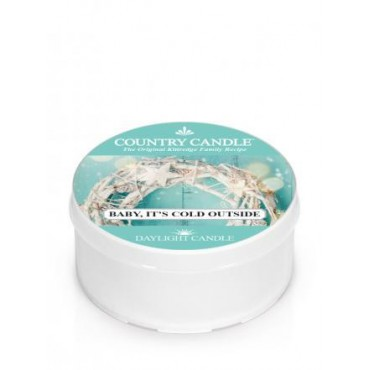 Daylight świeczka Baby Its Cold Outside Country Candle