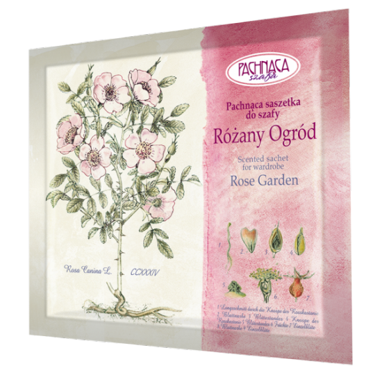 Pachnąca saszetka do szafy – Różany Ogród