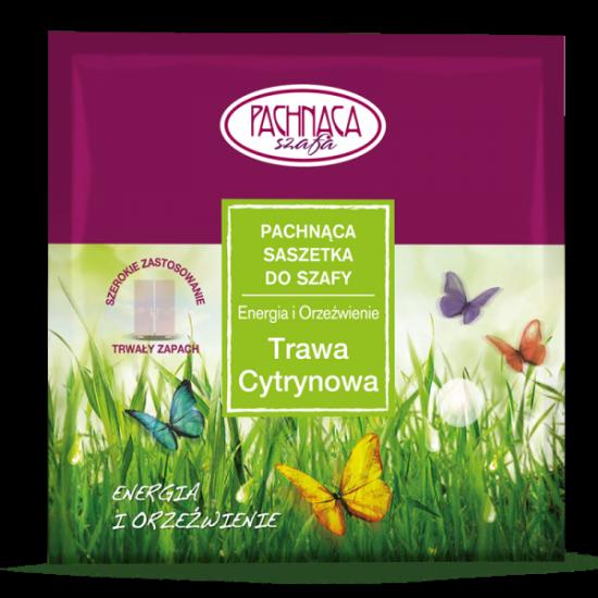 Pachnąca saszetka do szafy – Trawa Cytrynowa